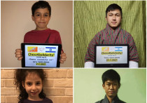 Chess4Solidarity prepares for a competition between Israel and Bhutan