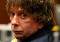Music producer Phil Spector attends his murder trial at the Los Angeles Superior Court in 2007.