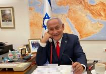 Prime Minister Benjamin Netanyahu speaks with President Joe Biden on February 17