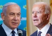 Prime Minister Benjamin Netanyahu and US President Joe Biden