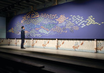 Andi Arnovitz has a new exhibition at the Tel Aviv Artists House