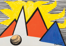 Alexander Calder from the exhibition 'Great Yellow Sun'