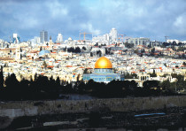 A GENERAL view of the Temple Mount in Jerusalem's Old City last year.