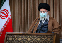 Iran's Supreme Leader Ayatollah Ali Khamenei delivers a televised speech in Tehran, Iran March 11, 2
