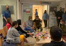 IDF Chief of Staff Aviv Kohavi meets with family of disabled veteran Itzik Saidian
