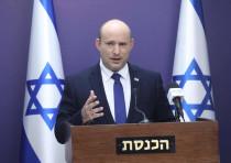 Prime Minister Naftali Bennett is seen speaking at the Knesset, on July 5, 2021.