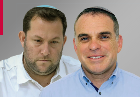 (L-R) Yossi Dagan & Oded Revivi (Photo credits: Marc Israel Sellem / Orit Samuels)