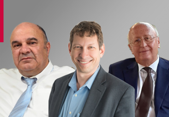 (L-R) Shmuel Shapiro, Tal Zaks & Alexander Gintsburg