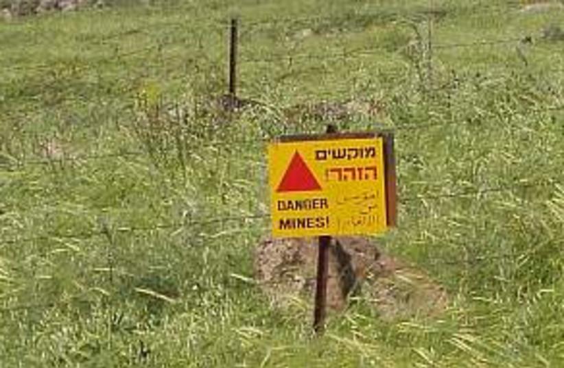 golan mine field 298.88 (photo credit: Courtesy)