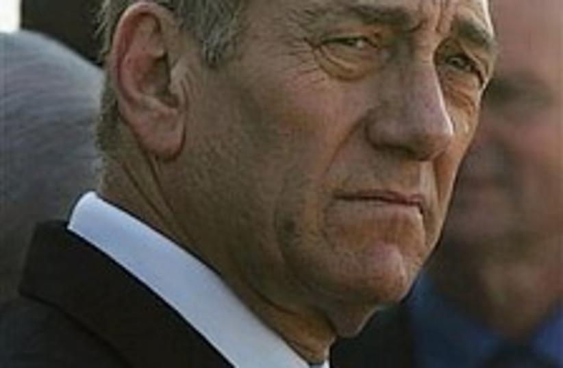 Olmert concerned 224.88 (photo credit: AP [file])