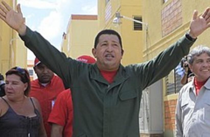 Chavez waves 248.88 (photo credit: AP [file])