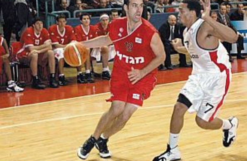 Hapoel Tel Aviv 298.88 (photo credit: Asaf Kliger)
