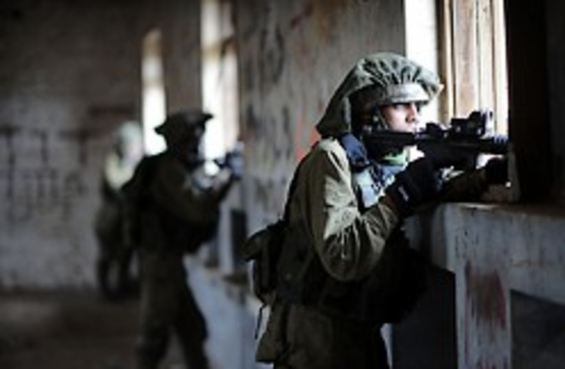 IDF urban combat 248.88 (photo credit: IDF Spokesperson)