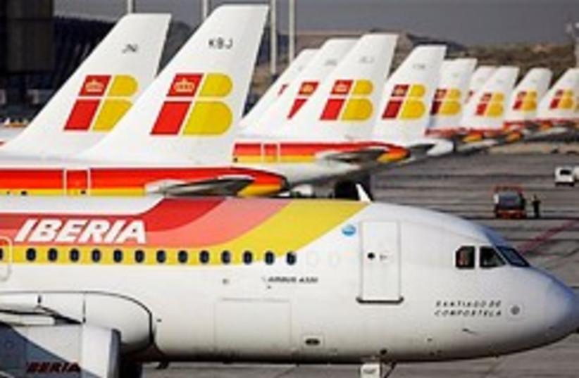 Iberia planes 248.88 (photo credit: )