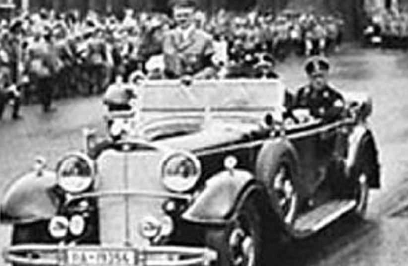 hitler car 298 coutesy (photo credit: Courtesy)
