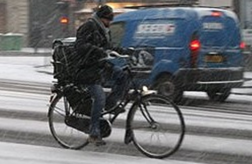 cyclist 248.88 (photo credit: AP)