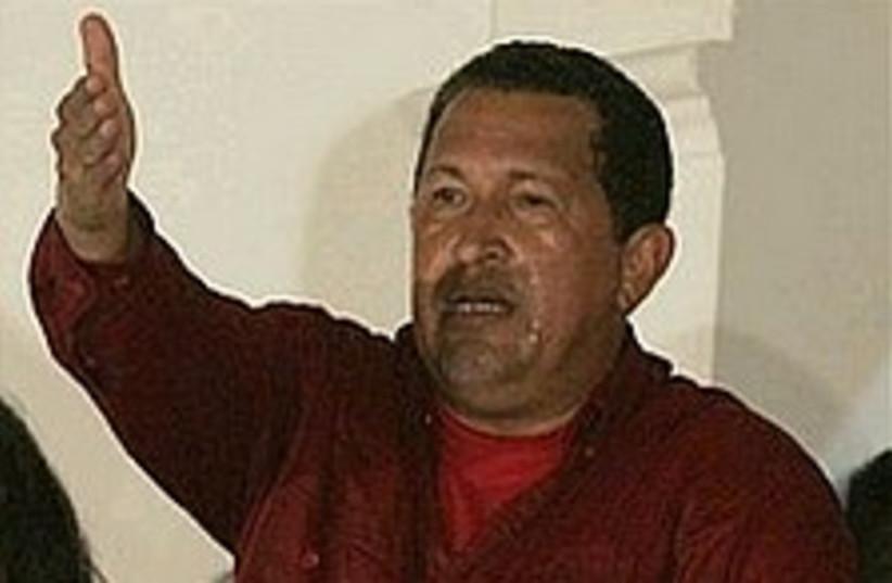 chavez 298.88 (photo credit: AP)