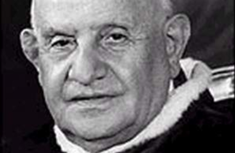 pope john XXIII 298.88 (photo credit: AP [file])