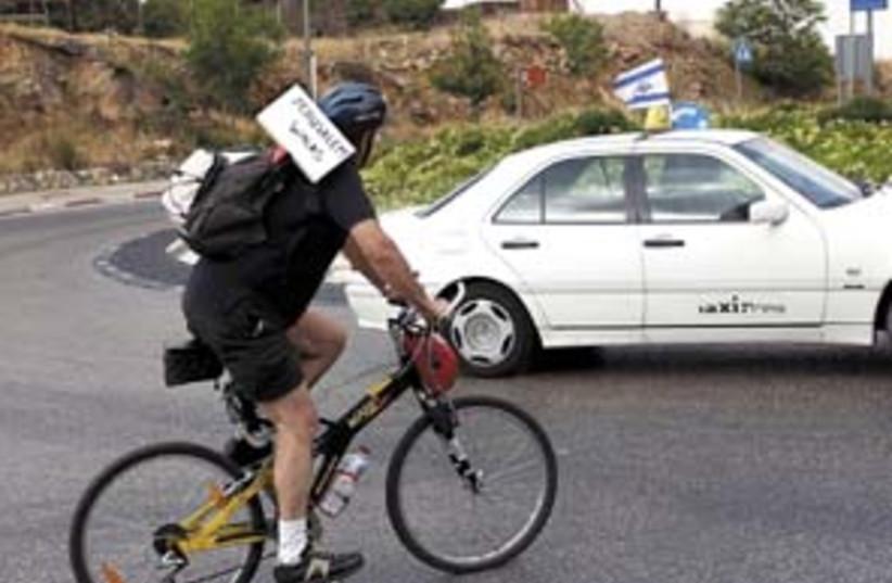bike in jer 298 AJ (photo credit: Ariel Jerozolimksi)