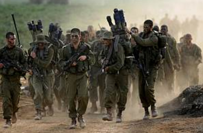 idf training 298 idf (photo credit: IDF)