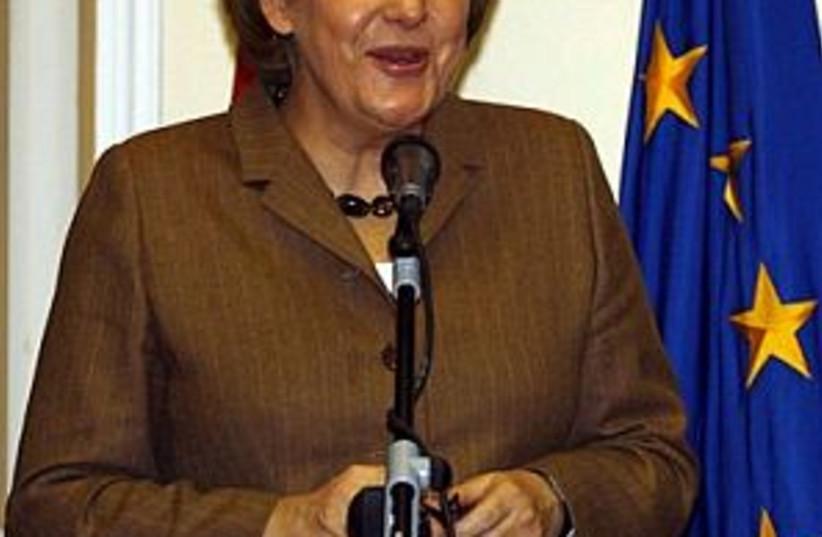 Merkel 298.88 (photo credit: AP)