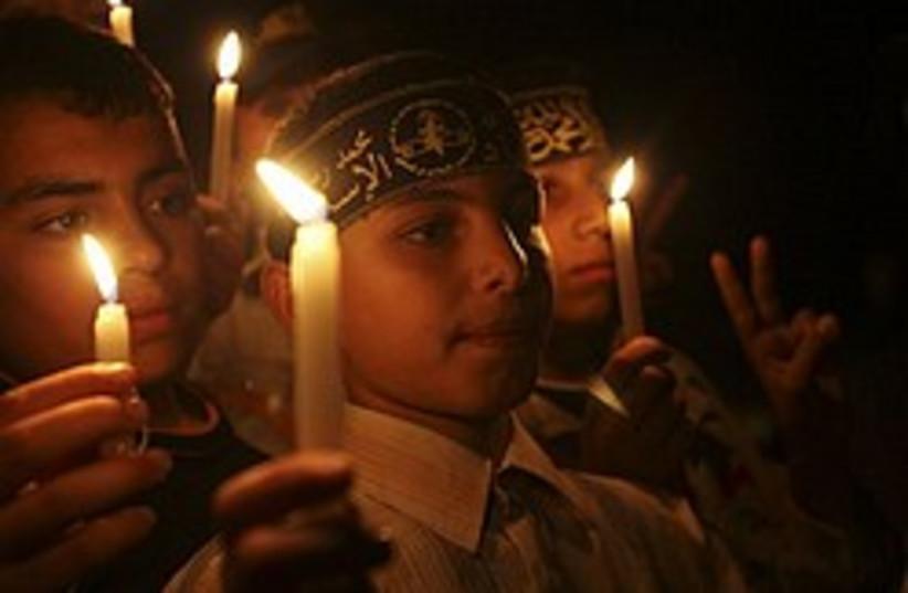 palestinian children gaza 248 88 ap (photo credit: AP)