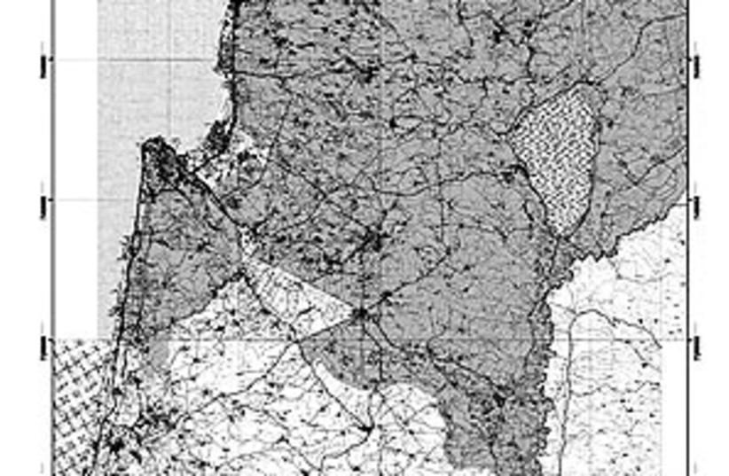 lower galilee map 88 298 (photo credit: Courtesy Photo)