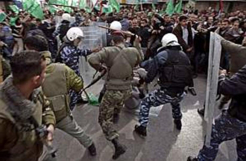 fatah  hamas clash 298.8 (photo credit: AP [file])
