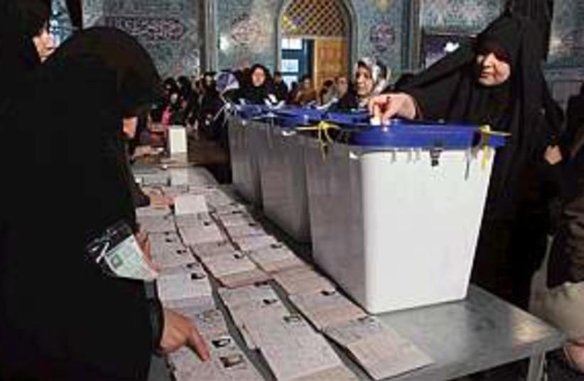 iran vote 298.88 (photo credit: AP [file])
