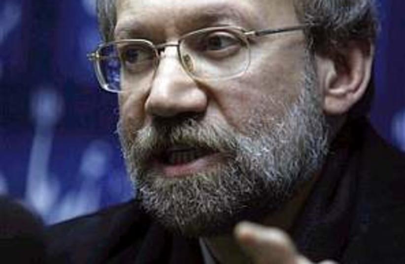 Ali Larijani 298 (photo credit: AP [file])
