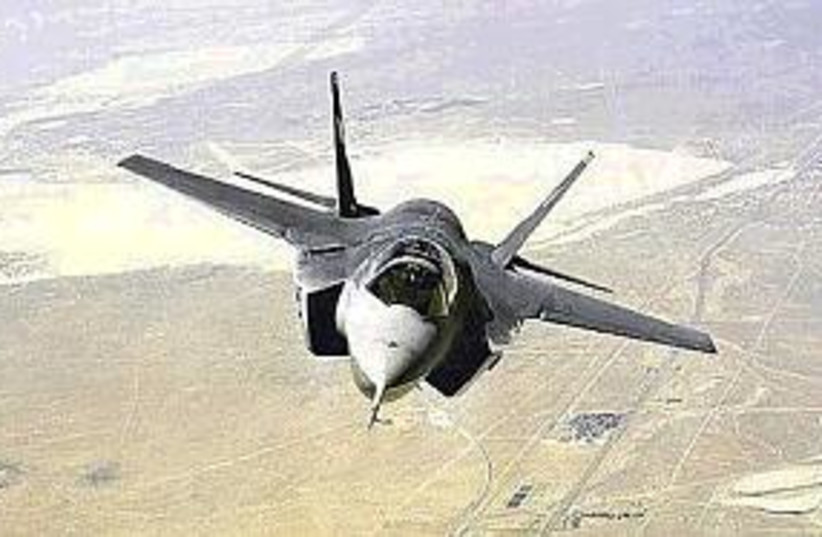 joint strike fighter 298 (photo credit: AP)
