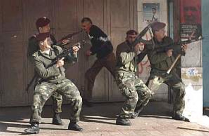 Fatah fucking gd (photo credit: AP)