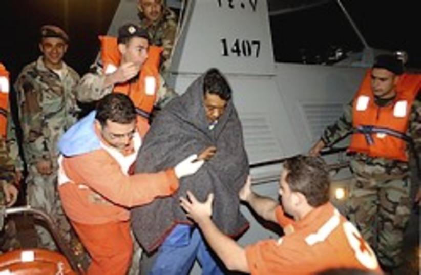 Lebanon ship sinks 248.88 (photo credit: )