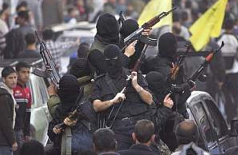 fatah gunmen 298.88 (photo credit: AP)