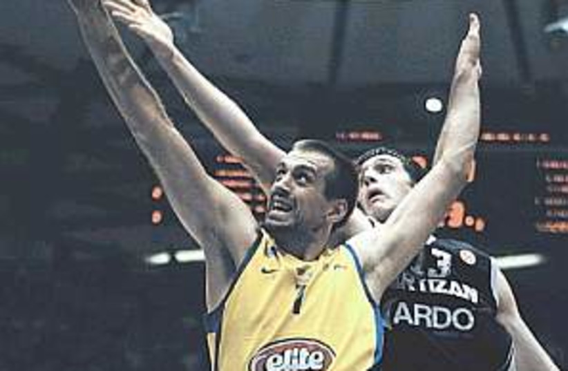 Maccabi Tel Aviv 298.88 (photo credit: AP)
