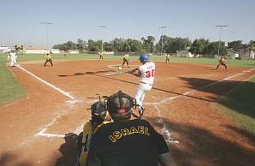 baseball 298.88 (photo credit: AP)