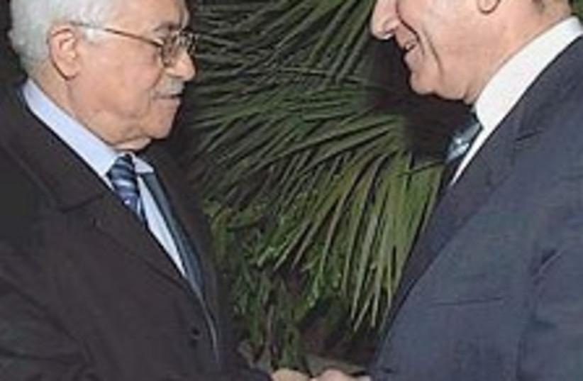 Olmert Abbas 224.88 (photo credit: AP [file])