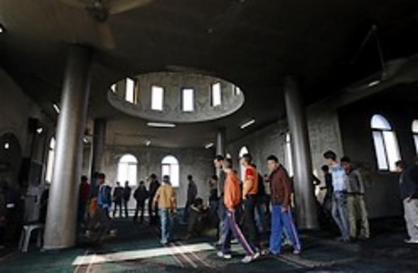 mosque yasuf palestinians inspect 248.88 (photo credit: AP)