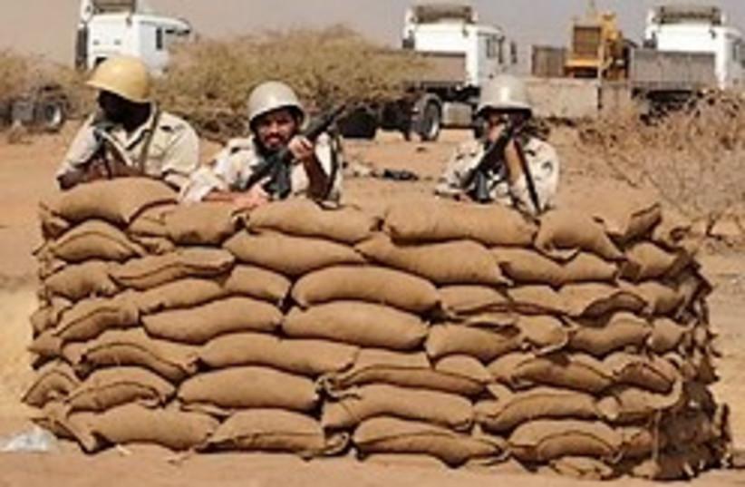 Saudi soldiers Yemen border 248.88 (photo credit: )