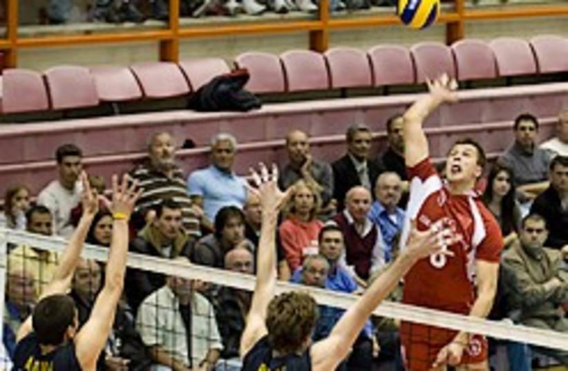 volleyball maccabi tel aviv 248  (photo credit: Asaf Kliger)