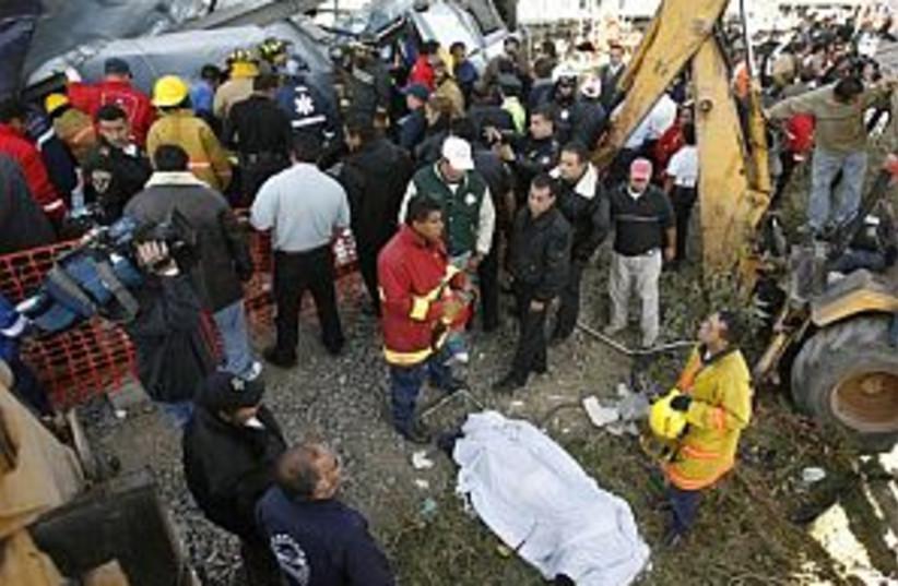 mexico crash 298.88 (photo credit: AP)