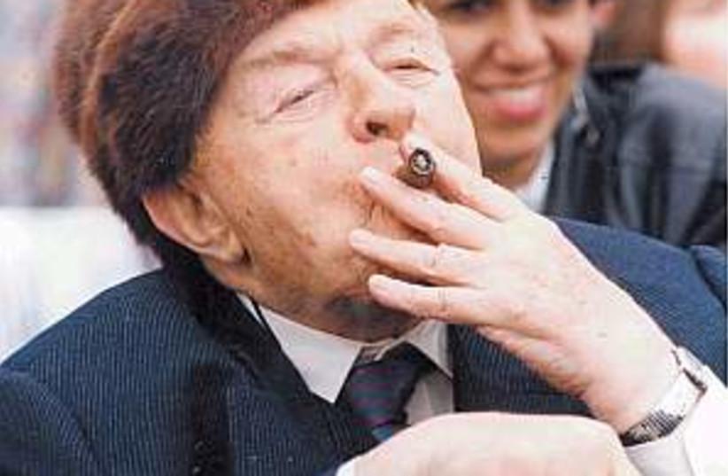 kollek cigar 298.88 (photo credit: Ariel Jerozolimski)