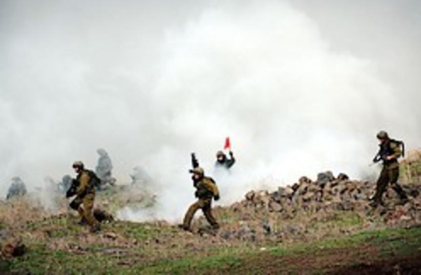 soldiers golan heights 248.88 (photo credit: IDF Spokesperson)