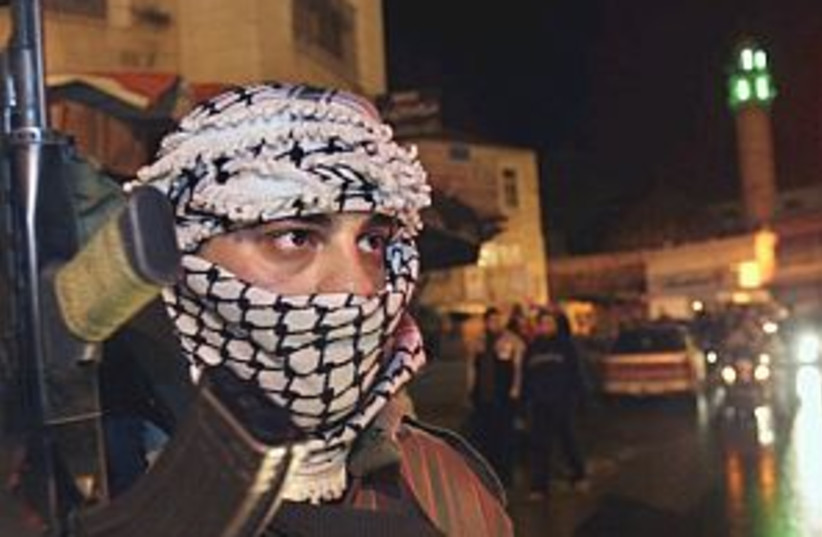 fatah gunmen great 298.8 (photo credit: AP [file])