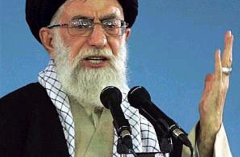iran ayatollah khameini  (photo credit: AP)
