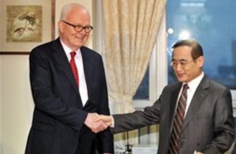 korea nuclear talks Bosworth 248 88 (photo credit: )