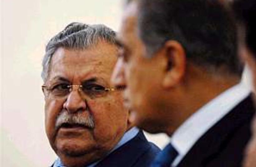 jalal talabani (photo credit: AP)