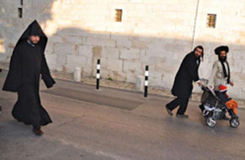 franciscan monk 248.88 (photo credit: Sarah Levin)