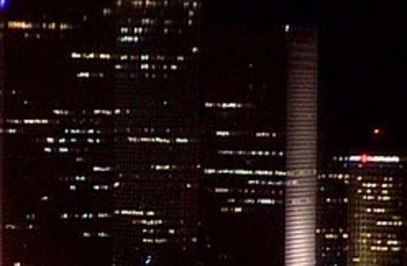 lights off in tel aviv 248.88 (photo credit: Channel 10)