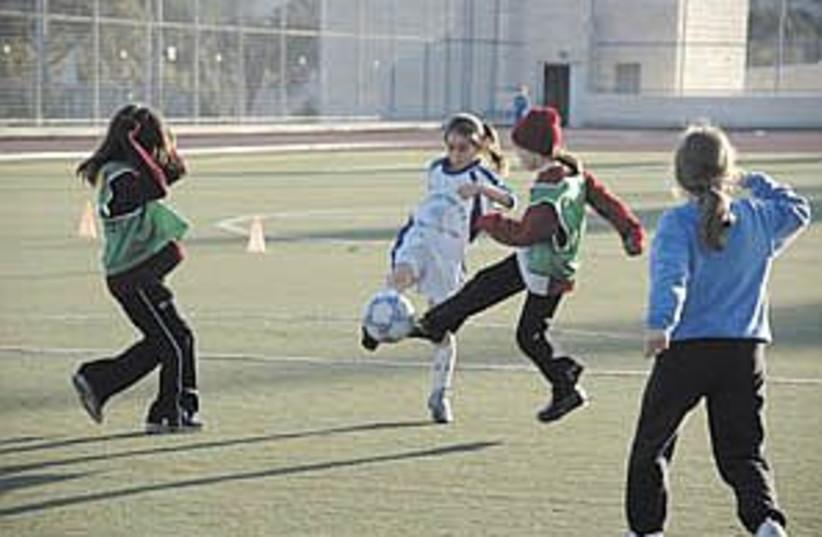 girls soccer ij 298.88 (photo credit: Sarah Levin)